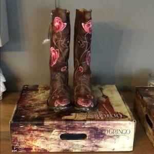 Never worn old Gringo Marsharazz cowboy boots